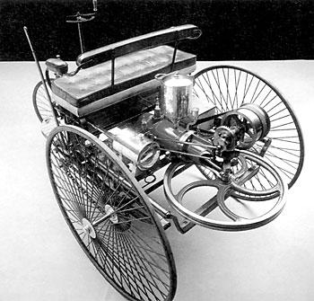 Механика автомобиля Бенца