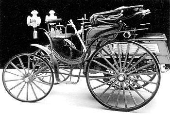 Тремместная «Виктория» с одноцилиндровым мотором