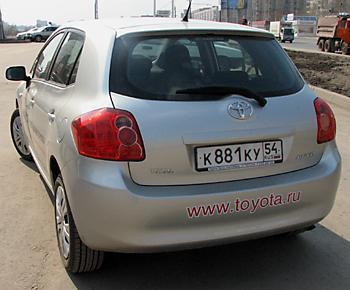 тест-драйв Toyota Auris