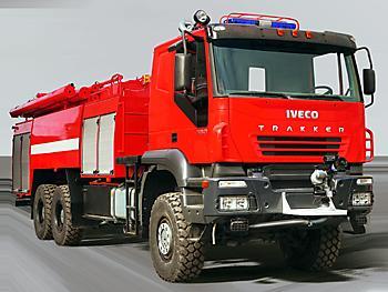 Аэродромный пожарный автомобиль на базе «Iveco Trakker»