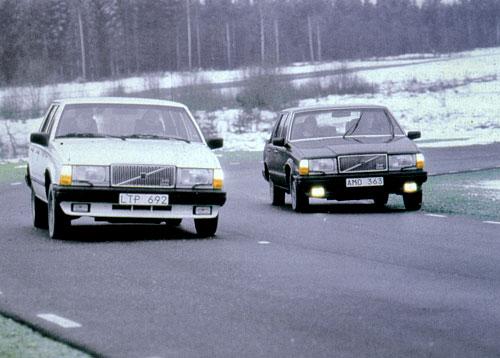 Volvo c динамически компенсированной подвеской