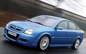 Прототип Opel Vectra OPC