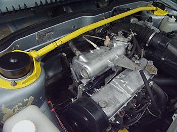 Тюнинг ВАЗ 21099 Распорка для увеличения жесткости кузова