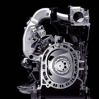 роторно-поршневой двигатель Mazda Hydrogen Renezis