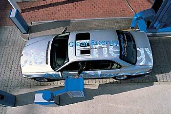 BMW 745H с V-образной «восьмеркой» на водороде