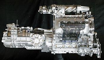 Винтовой компрессор в исполнении Eaton - Ford GT