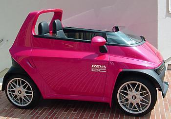 Прототип NXG на электротяге индийской Reva Electric Car Company