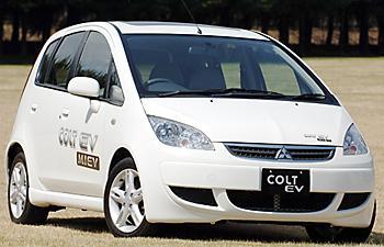 Экспериментальный Mitsubishi Colt EV