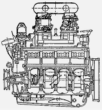 Двигатель Tatra T603
