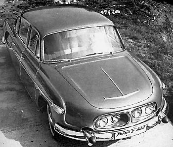 Tatra T603/2 со сдвоенными фарами