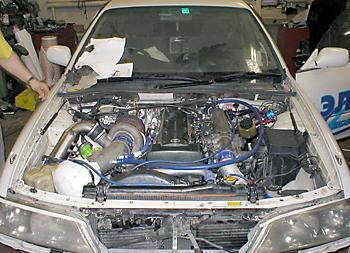 Под капотом – Toyota Mark II GT Four