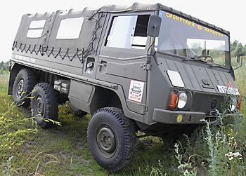 Steyr-Puch Pinzgauer Typ 712 M тест-драйв