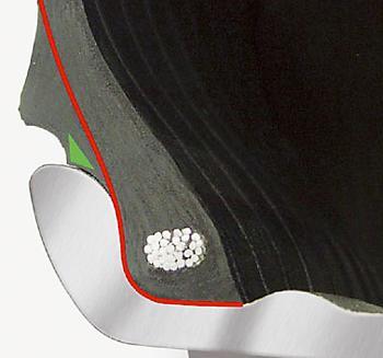 Прочное защитное ребро предохраняет диск от повреждений
