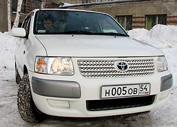 Тест-драйв Toyota Succeed TХ