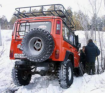 УАЗ 31514 - Рыжий апельсин
