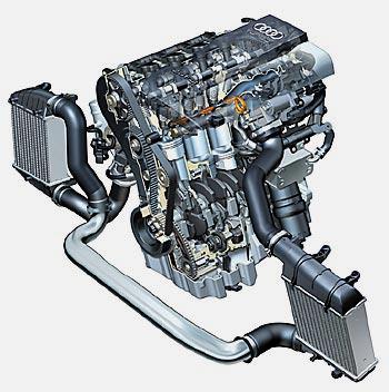 2-литровый 16-клапанник TFSI с непосредственным впрыском