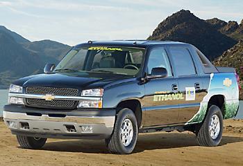 Chevrolet Avalanche с bi-топливной 5,3-литровой восьмеркой Vortec мощностью за 300 л.с.