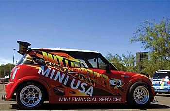 Mini Cooper S от тюнинг-ателье Fireball Tim