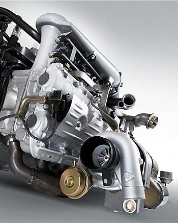 Заряженный 3,6-литровый 24-клапанник Porsche