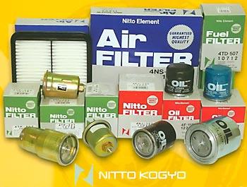 Японские фильтры NITTO