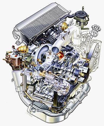 2,5-литровый оппозитник Subaru с турбонаддувом