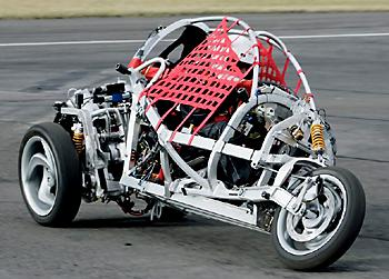 автомобиль мотоцикл Brink Dynamics Carver