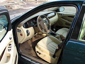 Тест-драйв Jaguar X–Type турбодизель