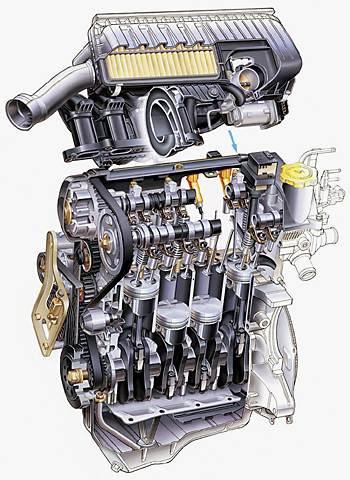 Двигатель Subaru EN07