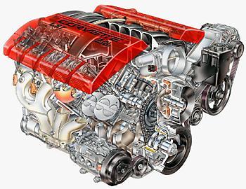 Двигатель Chevrolet Corvette Z06