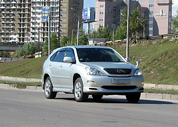 Тест-драйв Toyota Harrier 240G