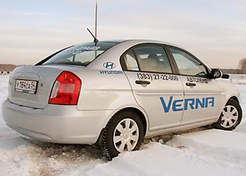Тест-драйв Hyundai Verna