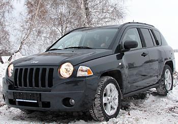 тест-драйв Jeep Compass