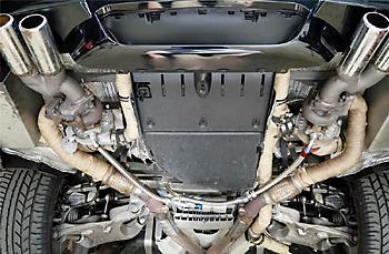 размещение турбин BMW M5