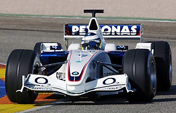 NGK и BMW Sauber F1