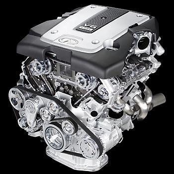 V-образный 6–цилиндровый 24-клапанник VQ37VHR
