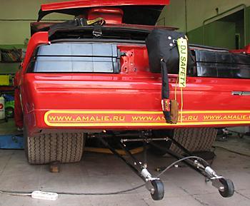 Тюнинг Chevrolet Camaro для Дрэг-Битвы