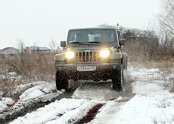 Тест-драйв Jeep Wrangler 4d