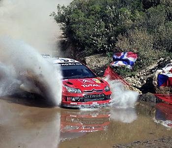 WRC ралли Мексики