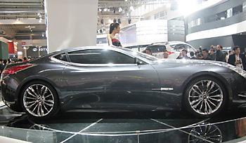 прототип Geely Tiger GT