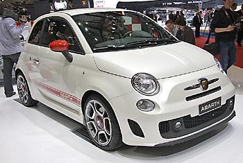 FIAT 500 в тюнинг-исполнении Abarth
