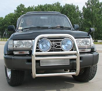 Тест-драйв Toyota Land Cruiser 80