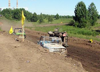 Праздник автокросса в Новосибирске класс Т1-2500