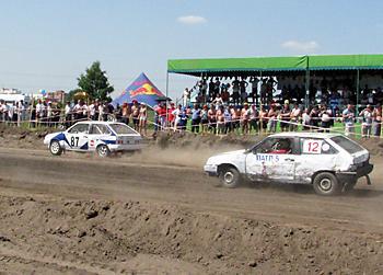 Праздник автокросса в Новосибирске Дивизион Д1-А