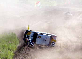Праздник автокросса в Новосибирске