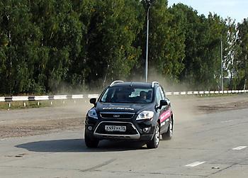 Тест-драйв Ford Kuga
