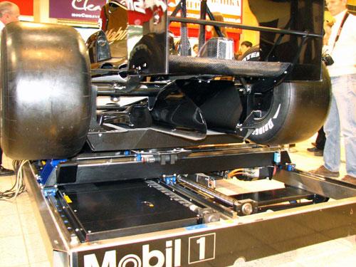 тест симулятора Формула1