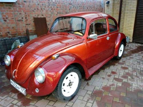 старый Volkswagen
