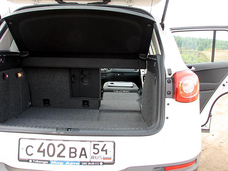 Багажник VW Tiguan
