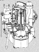 Шестицилиндровый двигатель ГАЗ-11, созданный на основе американского двигателя DODGE-D5. 1939г. Доработанный вариант устанавливался на грузовик ГАЗ-51, а позже на ГАЗ-52
