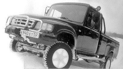"""ГАЗ-2308 """"Атаман"""" - наиболее интересная разработка последних лет"""